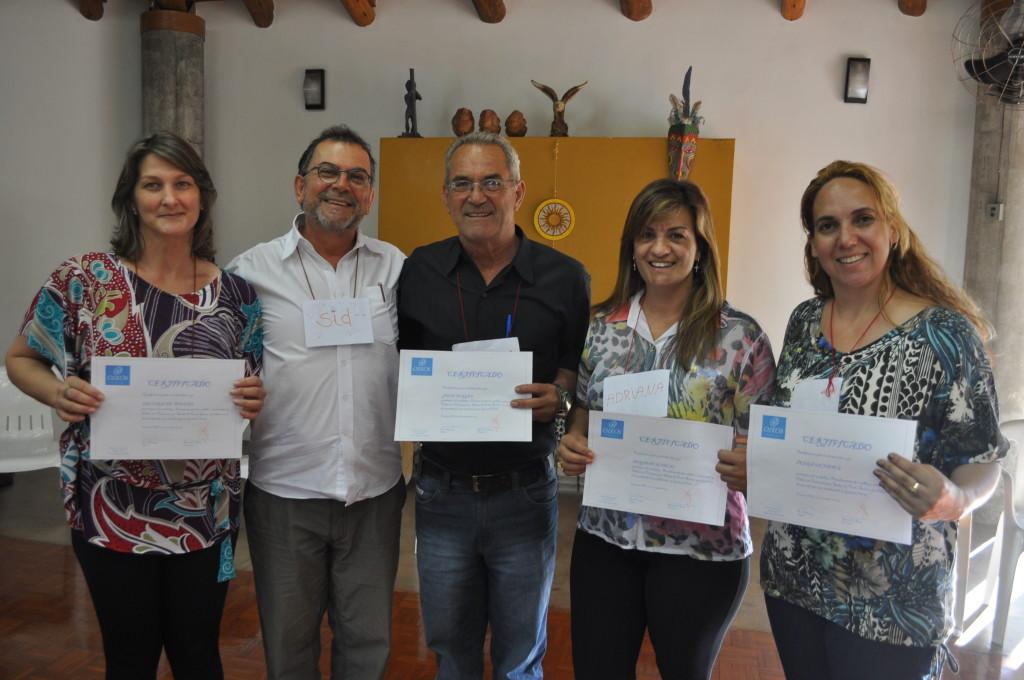 Representantes da prefeitura municipal de Içara